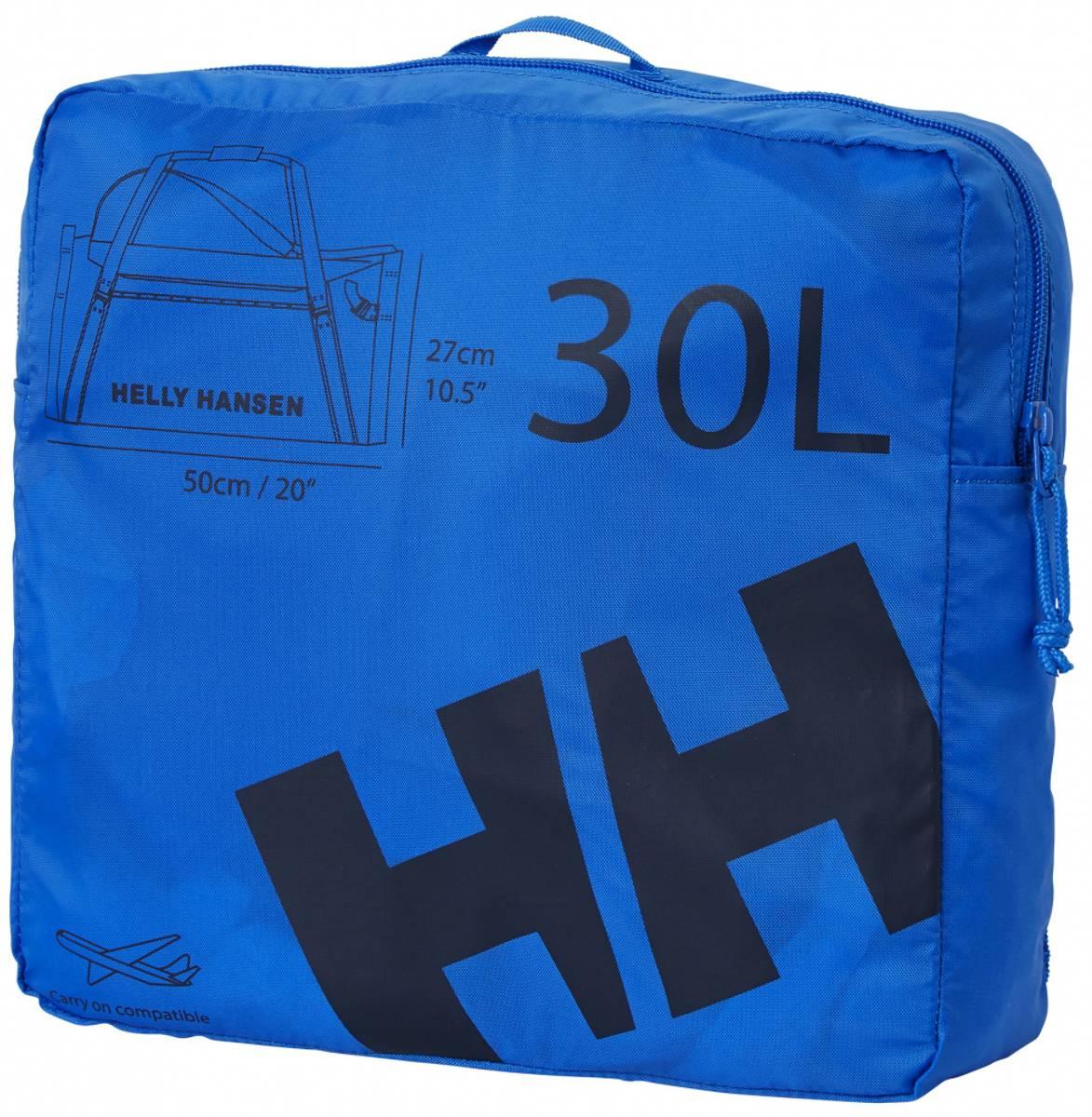 HH Duffel Bag 2 30L - Electric Blue
