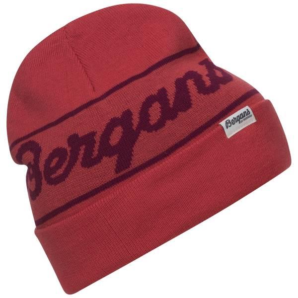 Bilde av Bergans Logo Beanie - Dahlia Red