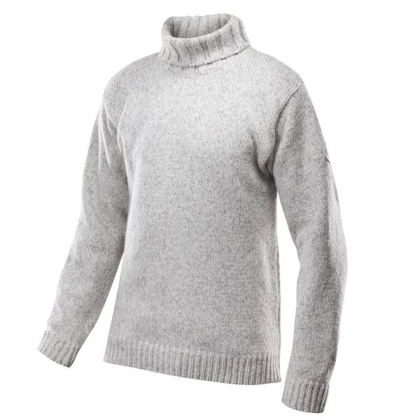 Bilde av Nansen Sweater High Neck - Grey Melange
