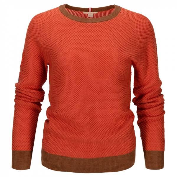 Bilde av Drifter Sweater Womens - Orange Sunset