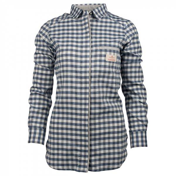 Bilde av Vagabond Shirt Womens - Small Chequered Blue