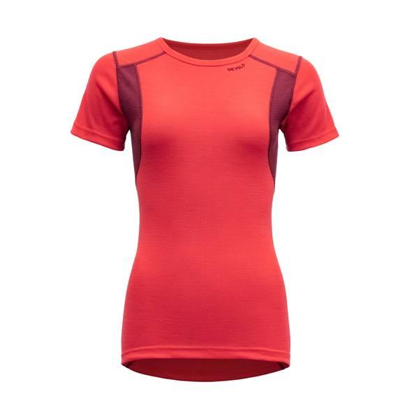 Bilde av Hiking Woman T-Shirt - Poppy/Beetroot