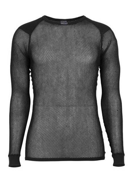 Bilde av Super Thermo Shirt w/ shoulder inlay - Sort