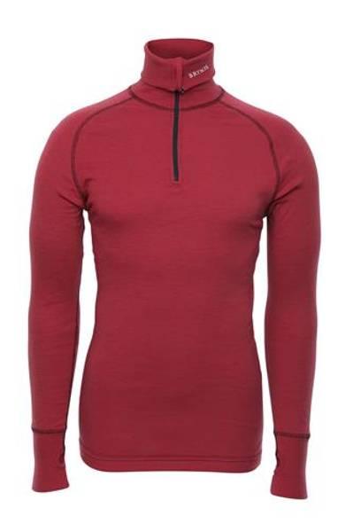 Bilde av Arctic Zip Polo Shirt - Rød