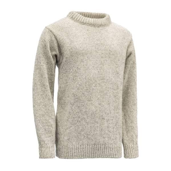 Bilde av Nansen Sweater Crew Neck - Grey Melange