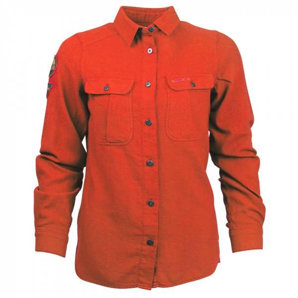 Bilde av Amundsen Flannel Shirt Womens - Red Clay