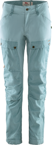 Bilde av Keb Trousers Curved W Reg - Clay Blue/Mineral