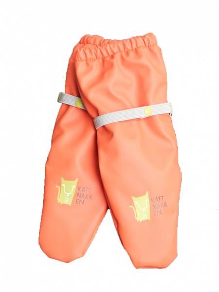 Bilde av Regnvotter Barn - Orange Love