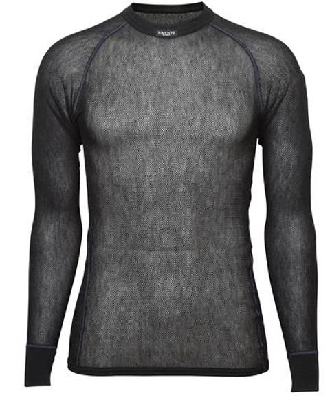 Bilde av Wool Thermo Light Shirt - Sort