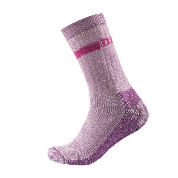 Bilde av Outdoor Heavy Woman Sock - Pink Melange