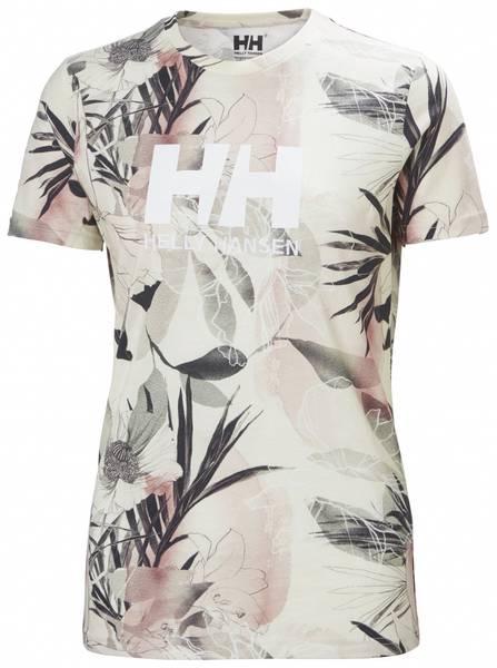 Bilde av W HH Logo T-Shirt - Cream Esra Print