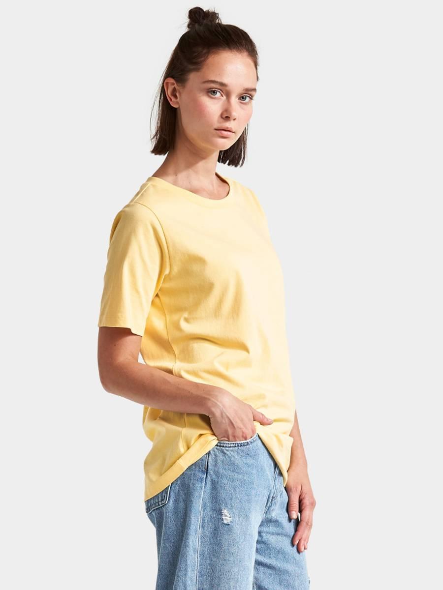 Unni Womens T-shirt - Light Yellow