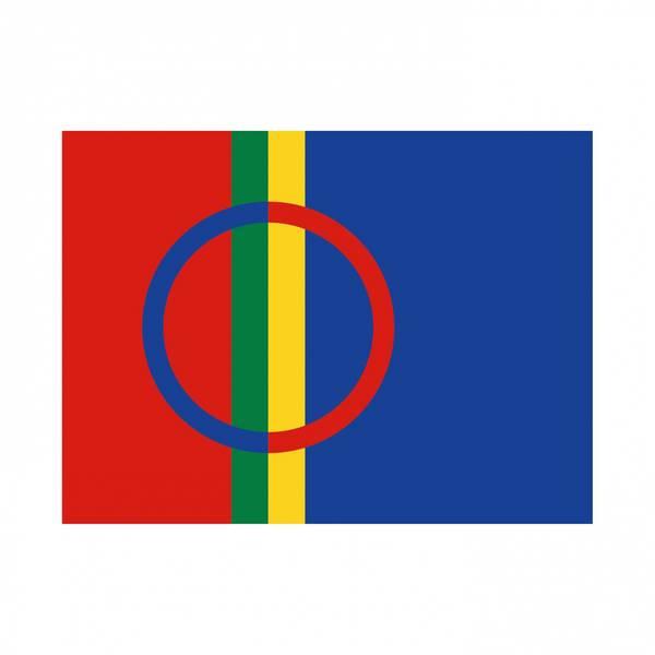 Bilde av Klistremerke sameflagget