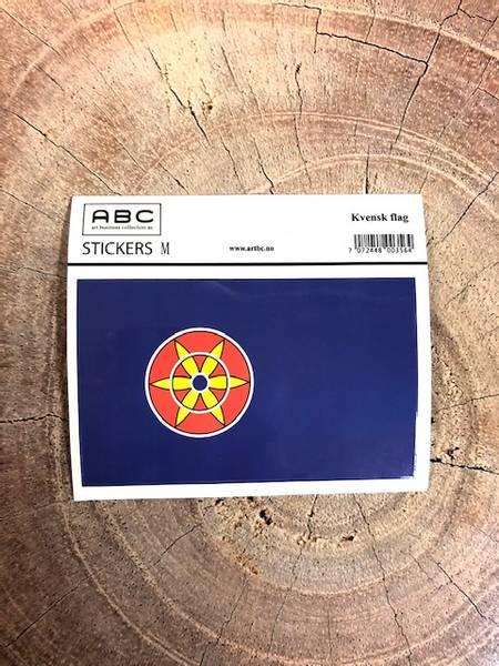 Bilde av Stickers - Kvensk flagg