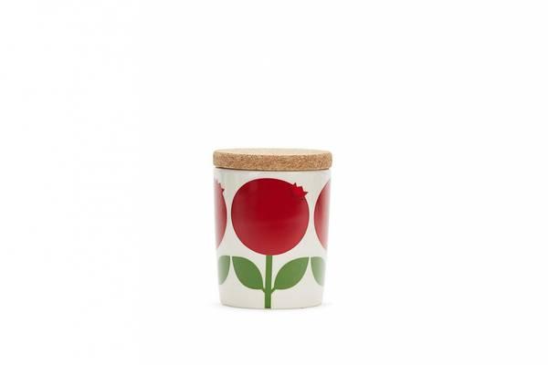 Bilde av Krukke 0,2 L med korklokk, Tyttebær