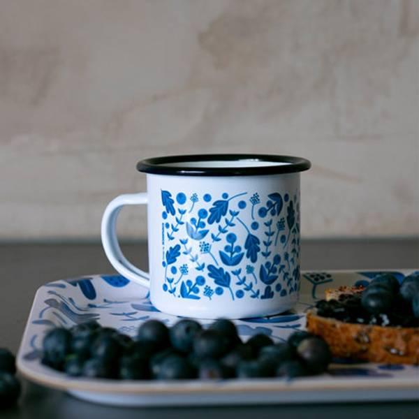Bilde av Emaljekopp blåbær