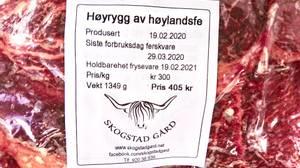 Bilde av Skogstad Gård Høyrygg  (fryst)