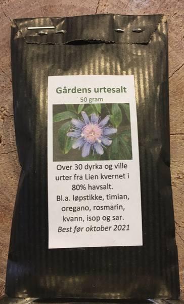Bilde av Lien Øko. Gårdens Urtesalt 50g