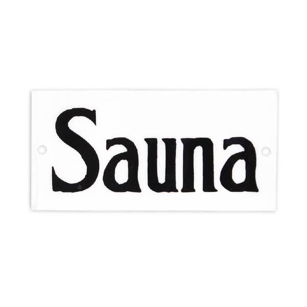 Bilde av Emaljeskilt Sauna