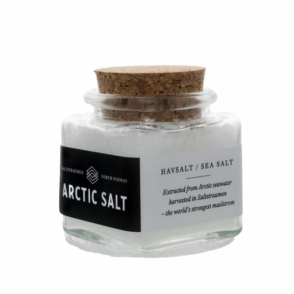Bilde av Arctic Salt Hvitt Havsalt 60g