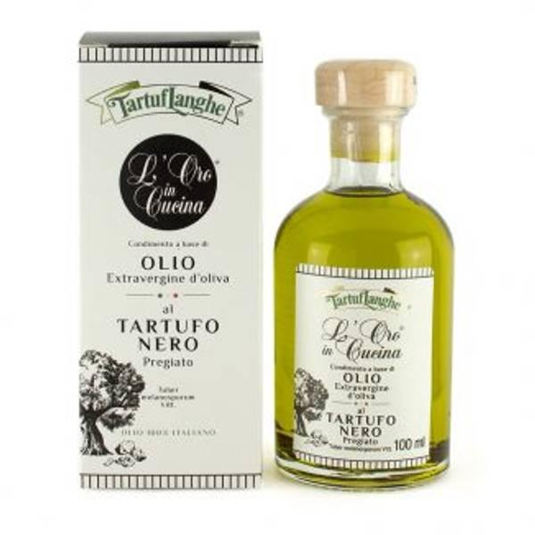 Bilde av Extra virgin olive oil med sort trøffel 100ml