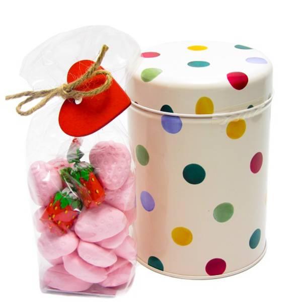 Bilde av Polkadot boks m jordbærskum