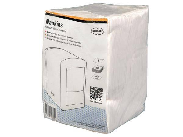 NAPKINS for tissue dispenser - 250pcs
