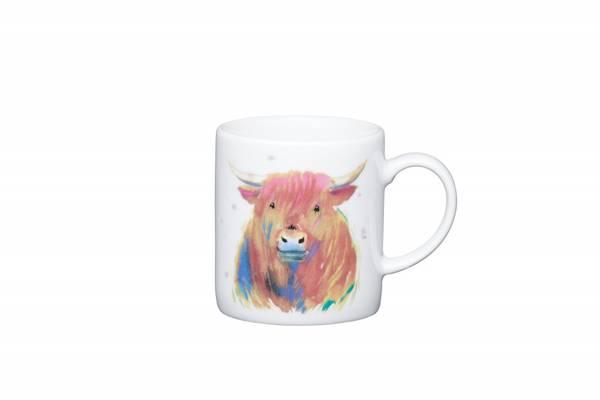 Bilde av Espressokopp - highland cow