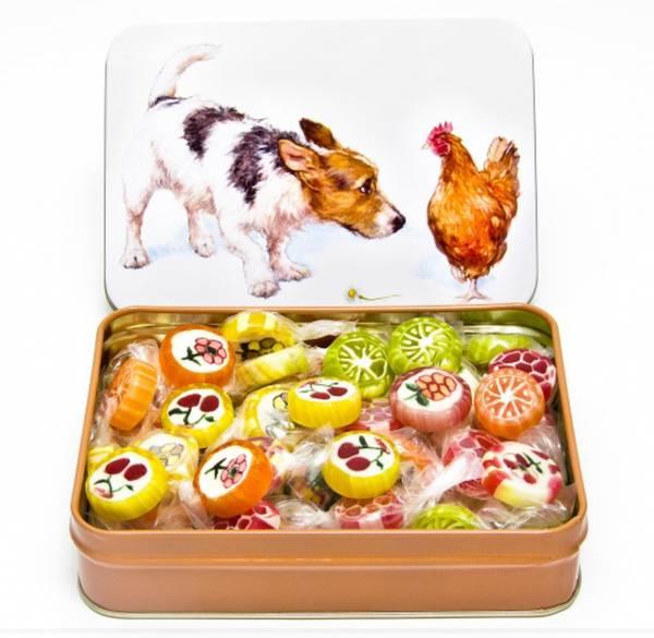 Bilde av Matboks Hund m/Fruktdrops 130g