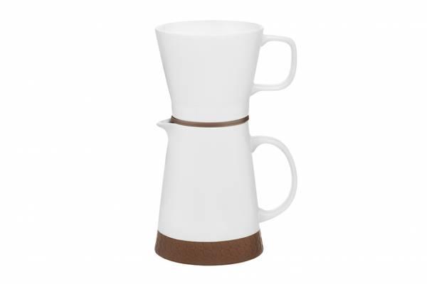 Bilde av Maku Duo Keramikk kaffekanne +filter sett