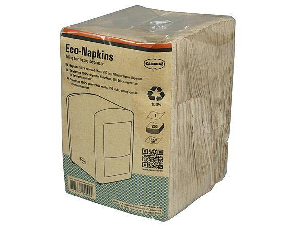 Eco servietter - 100% recycled fibres