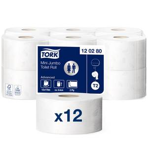 Bilde av Tork Mini Jumbo Toalettpapir T2