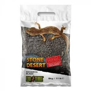 Bilde av Exo terra stone dessert  5kg Svart