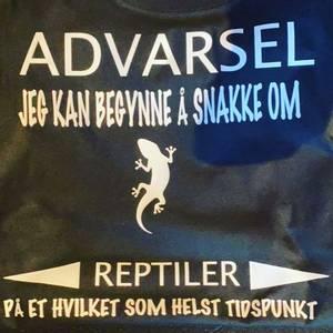 Bilde av ADVARSEL T-skjorte S