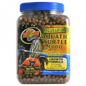 Bilde av Zoo Med Aquatic Turtle food Growth Formula 369g