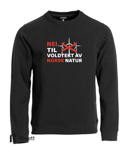 Bilde av Nei til voldtekt av norsk natur