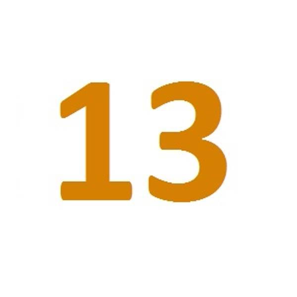 Luft/zink 13 (oransje)