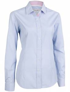 Bilde av Cotton Blend Small Check Lady Shirt