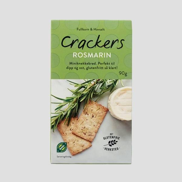 Bilde av Crackers Rosmarin