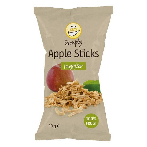 Bilde av Crispy Apple sticks med ingefær