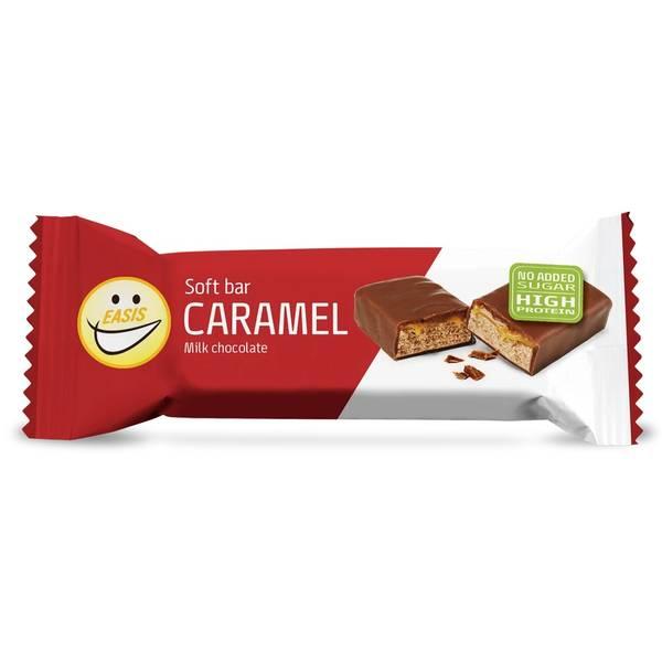 Bilde av EASIS Soft bar Karamel Lys sjokolade, 5 stk