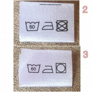 Bilde av 60 graders vaskelapper
