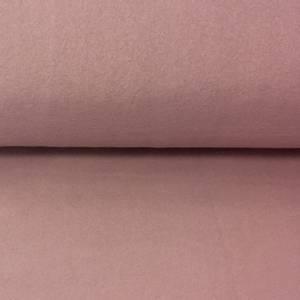 Bilde av Øko bomullsfleece gammelrosa