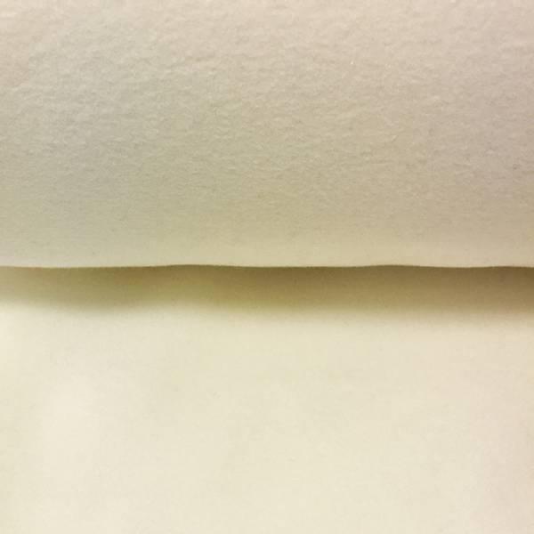 60 cm Øko bomullsfleece offwhite (110)