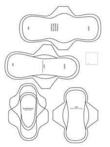 Bilde av SuzSy tøybind mønster PDF