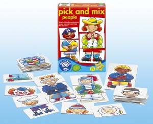Bilde av ORCHARD TOYS - SPILL,PICK AND MIX PEOPLE