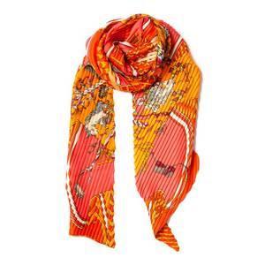 Bilde av Lite plisse skjerf - orange