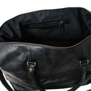Bilde av Weekendbag LYST i skinn - svart