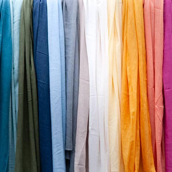 Skjerf i modal - mange farger!