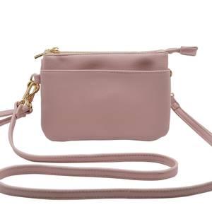Bilde av Veske GINA zipper - lys rosa